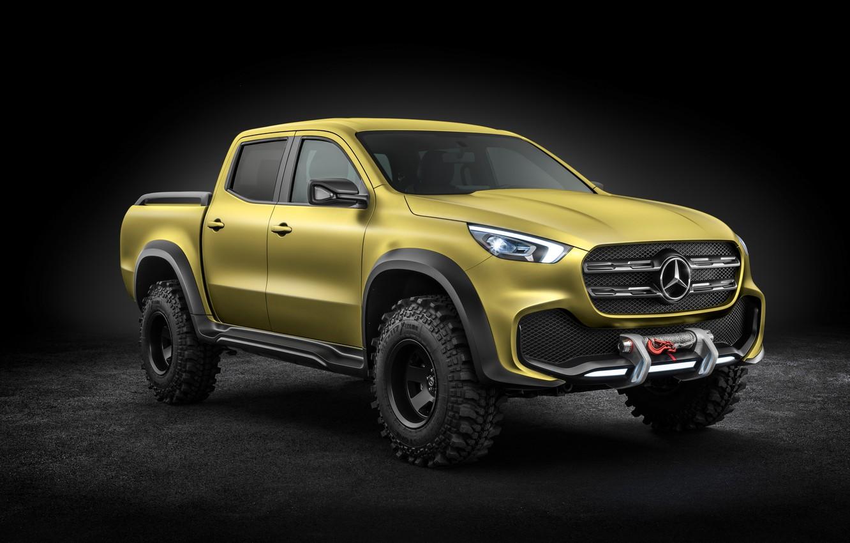 Photo wallpaper Concept, the concept car, SUV, Mercedes, pickup, Pickup, 8k, X Class, X class