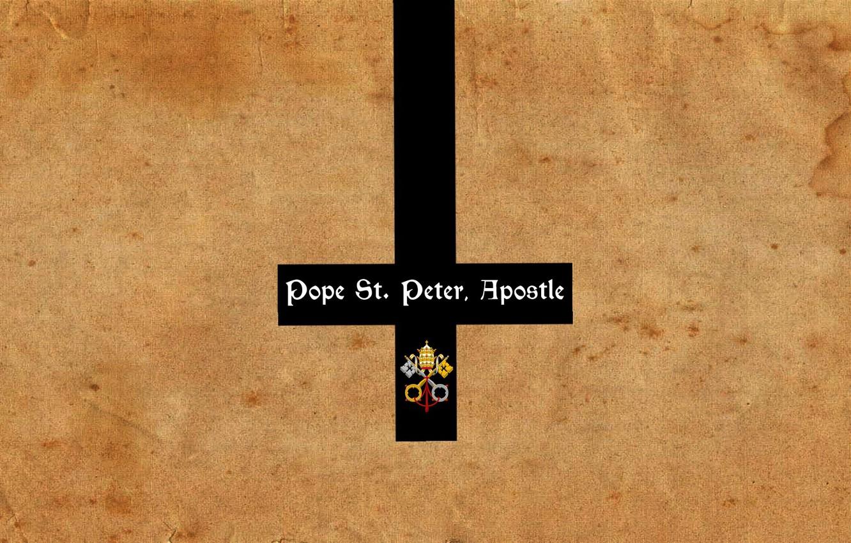 Wallpaper Cross Keys Jesus Saint Peters Basilica In Rome