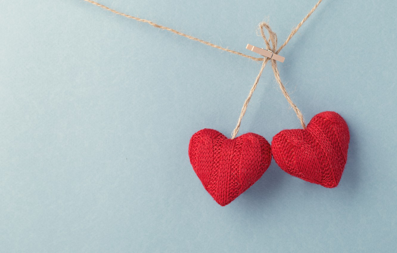 Photo wallpaper love, hearts, red, love, wood, romantic, hearts, valentine