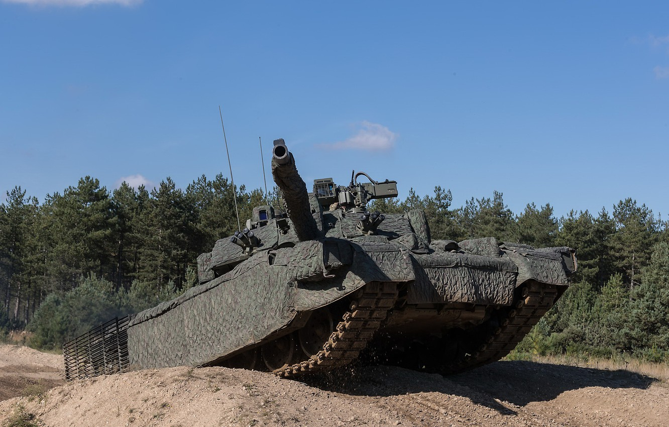 Photo wallpaper weapons, tank, Challenger 2