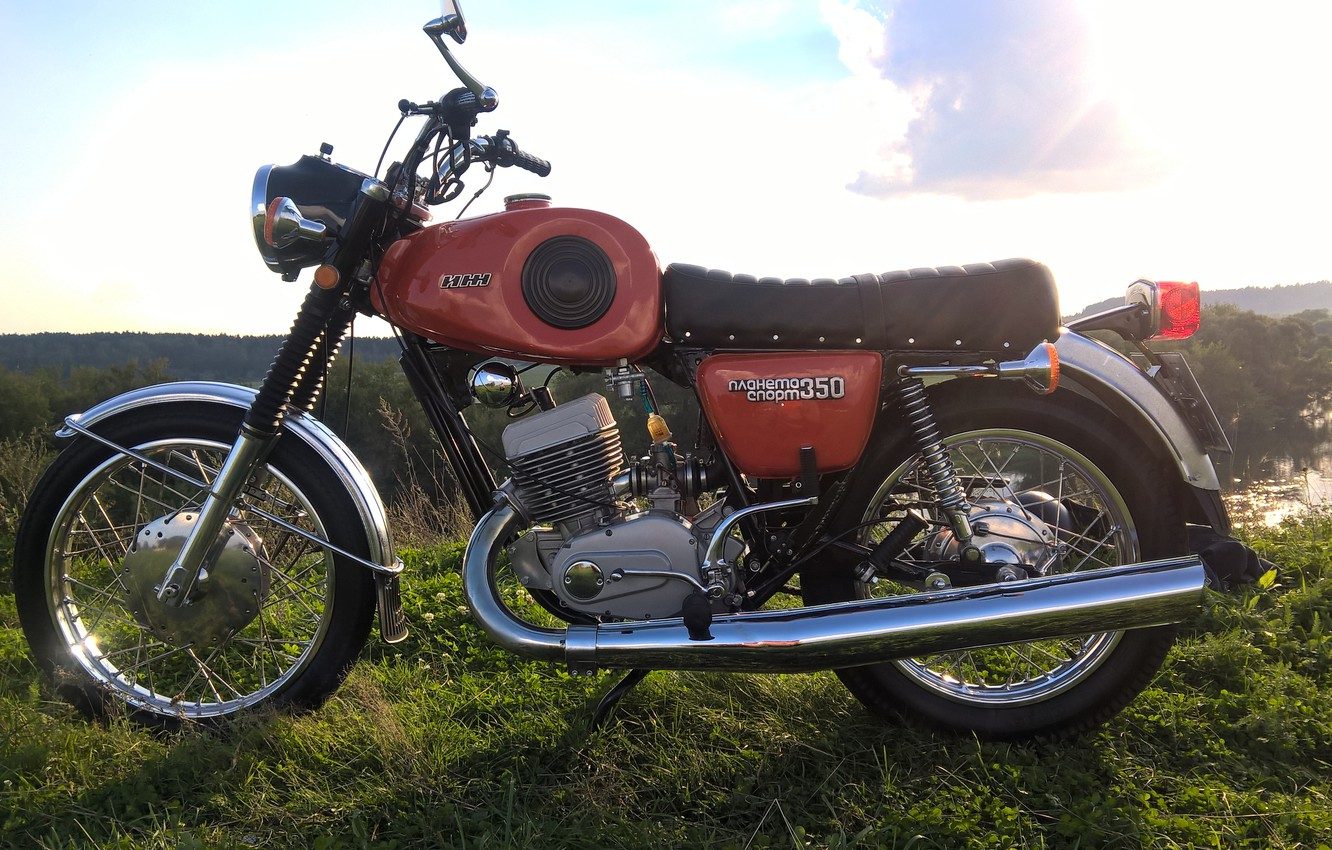 Photo wallpaper Planet Sports, Soviet motorcycles, IL