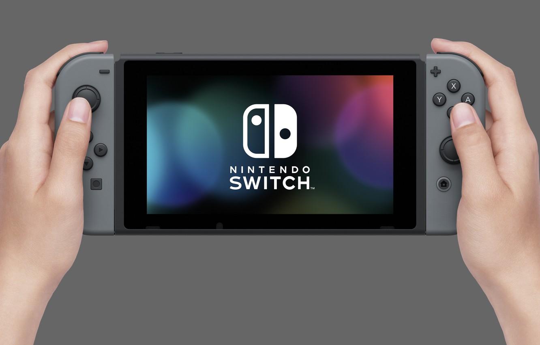 Wallpaper logo, game, Nintendo, screen, Hi-Tech, hand