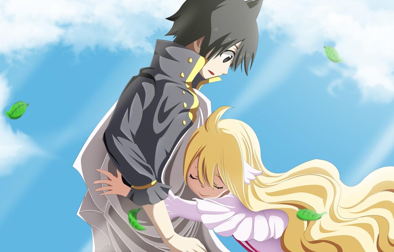 Photo wallpaper anime, blonde, manga, japanese, Fairy Tail, Mavis, shodaime, mahou, Fairy Tail Zero, Fairy Tail 0, …
