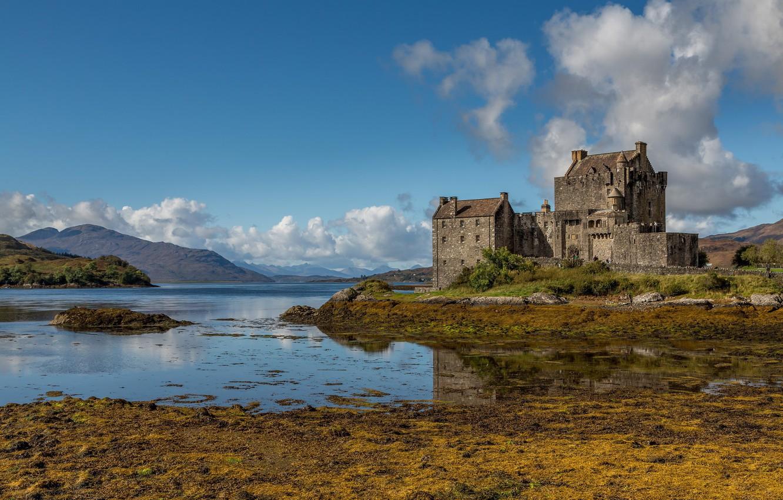 Photo wallpaper Scotland, Scotland, Eilean Donan Castle