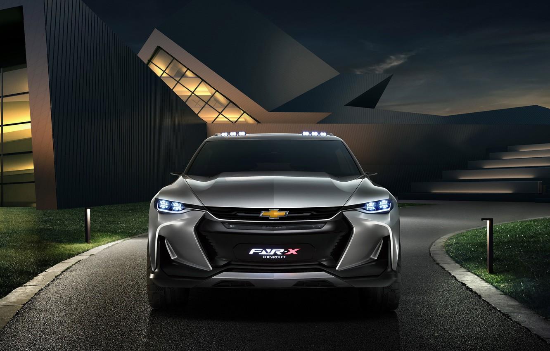 Photo wallpaper car, Chevrolet, logo, Chevrolet Fnr X