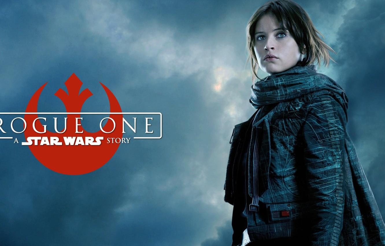 Photo wallpaper Felicity Jones, Star Wars Rogue One, Jyn Erso
