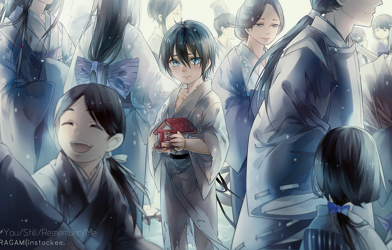 Wallpaper People Anime Art A Homeless God Noragami Yato Images For Desktop Section Prochee Download