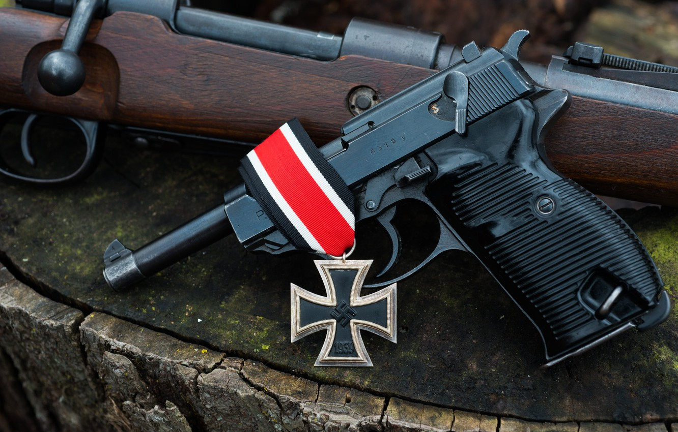 Wallpaper Gun Rifle 1944 To 98 Iron Cross Images For