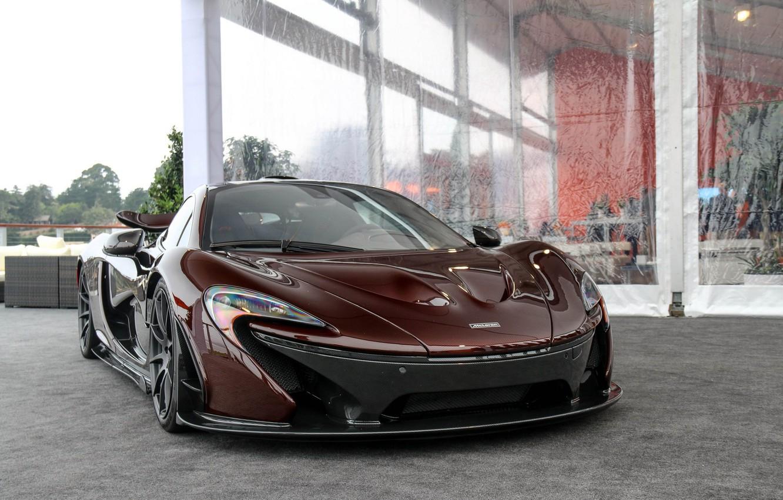 Photo wallpaper McLaren, supercar, supercar, P1