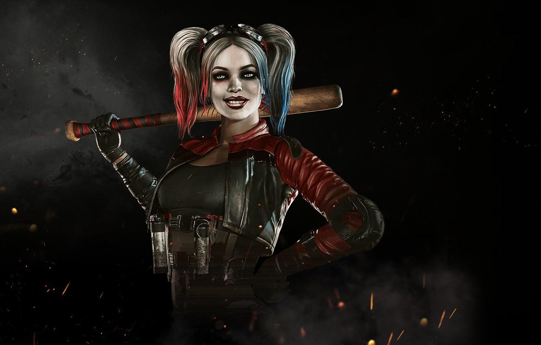 Wallpaper Harley Quinn Netherrealm Studios Harleen Frances