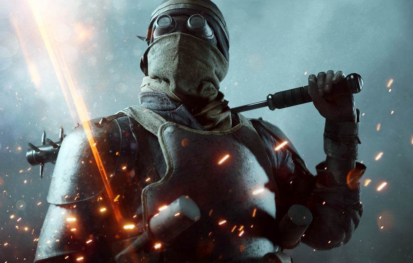 Photo wallpaper Lights, Fire, Military, Electronic Arts, DLC, DICE, Equipment, Weapons, Frostbite, Battlefield 1, Battlefield 1, Battlefield …
