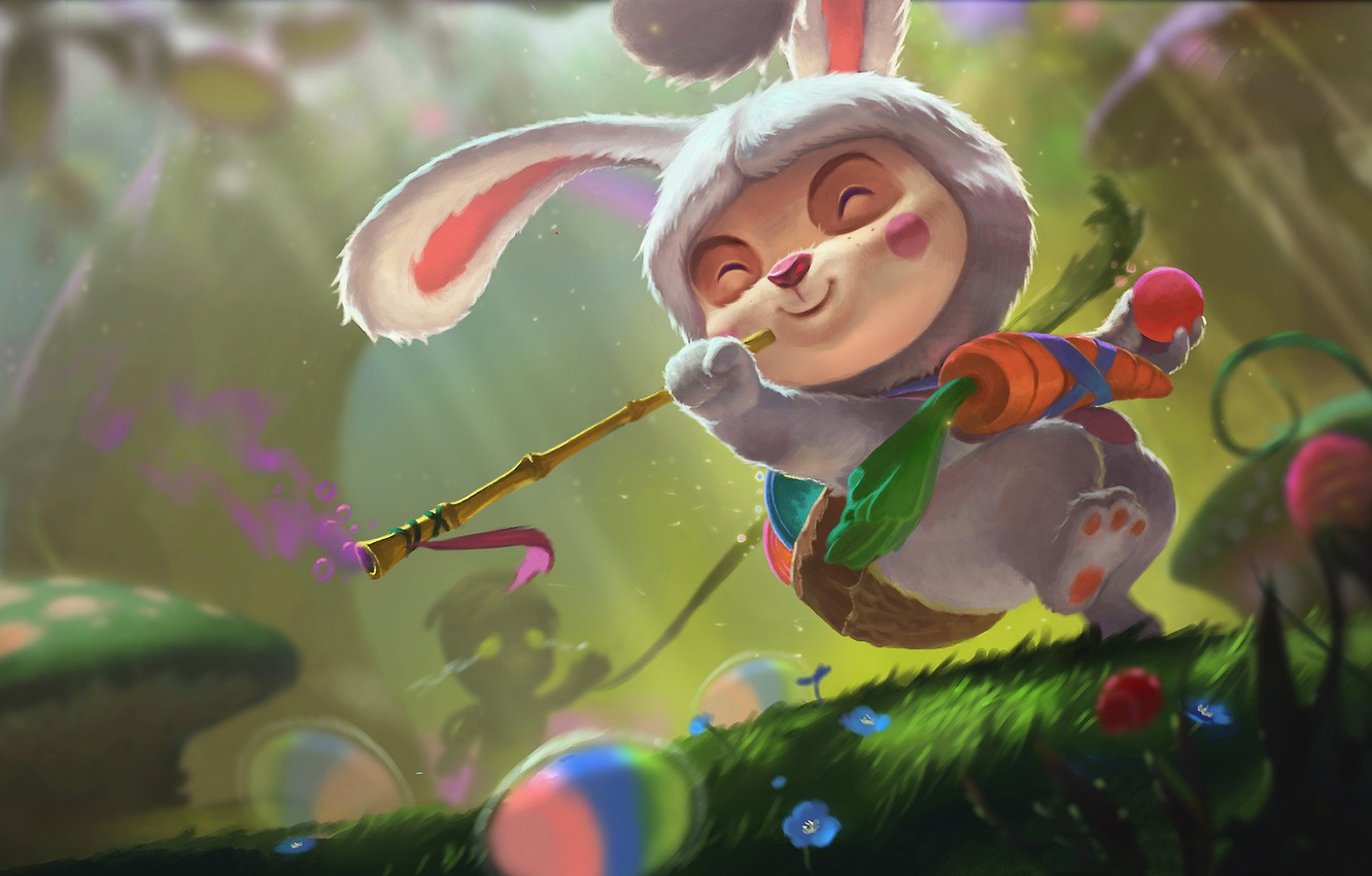 Wallpaper Art League Of Legends Lol Teemo Xi Zhang Images For