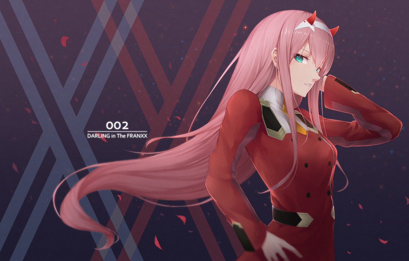 Wallpaper Girl Background Anime Darling In The Franxx Images