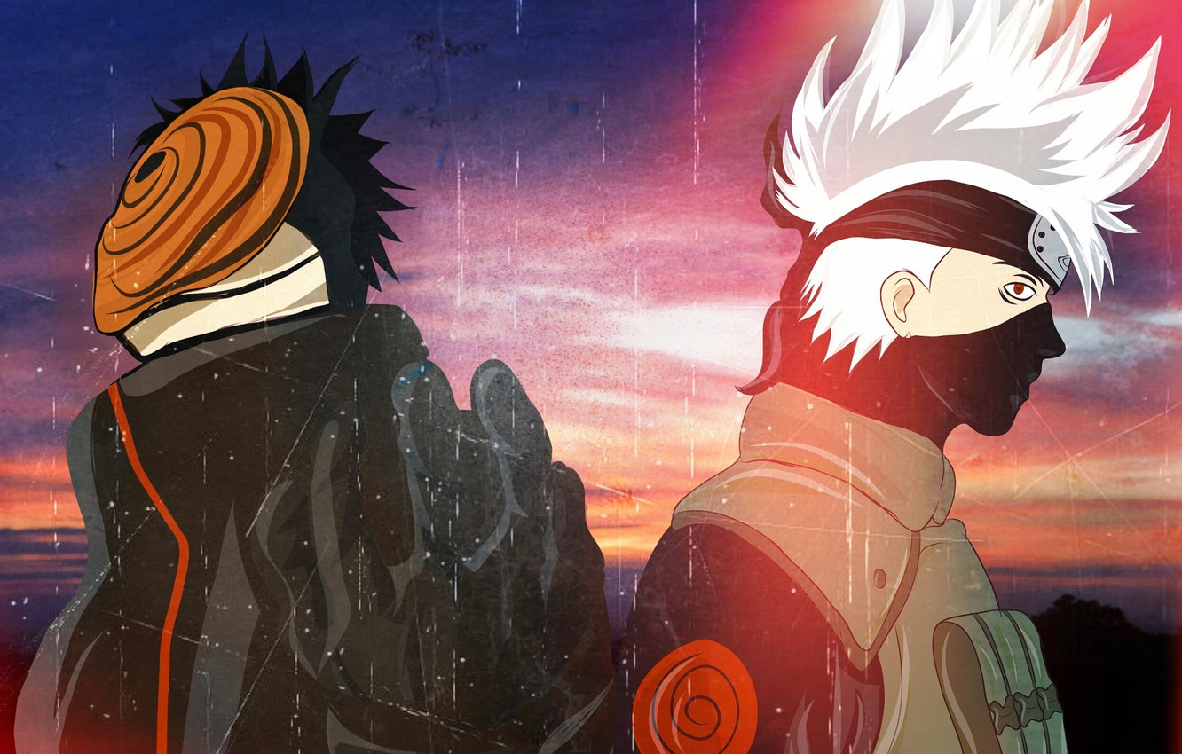 Wallpaper Naruto Obito Uchiha Hatake Kakashi Images For