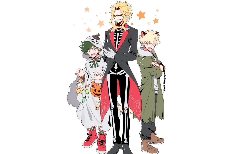 Photo wallpaper anime, art, Boku no Hero Academy, My heroic academia