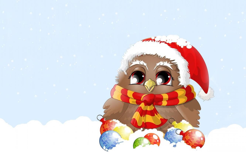 Photo wallpaper winter, balls, snow, mood, holiday, vector, art, New year, children's, Christmas toys, sovushka