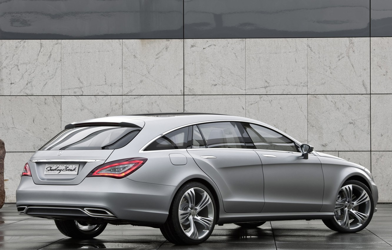 Photo wallpaper Mercedes-Benz, CLS, universal, Shooting Brake
