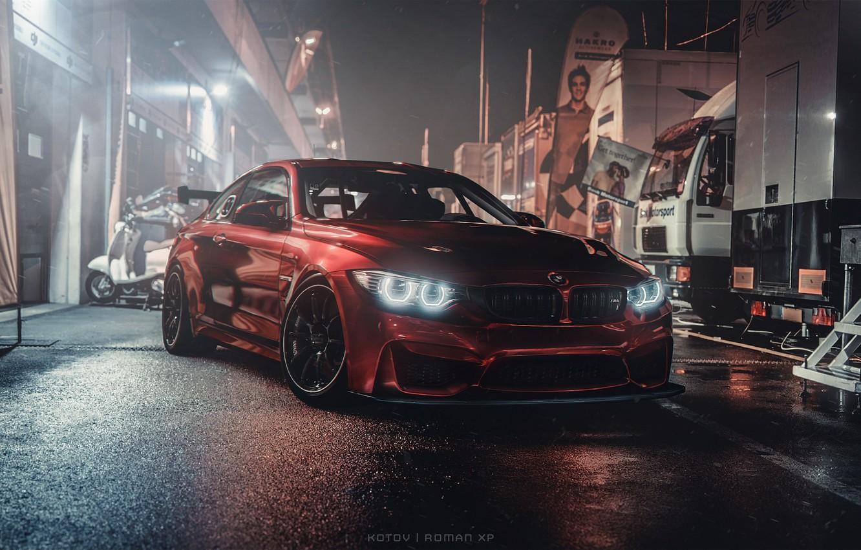 Photo wallpaper night, BMW, Night, Sport, Gran Turismo