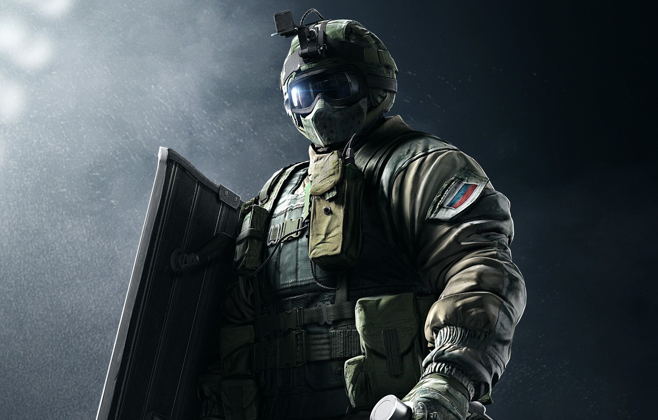 Wallpaper Game Soldier Rainbow Six Shield Special Forces Tom
