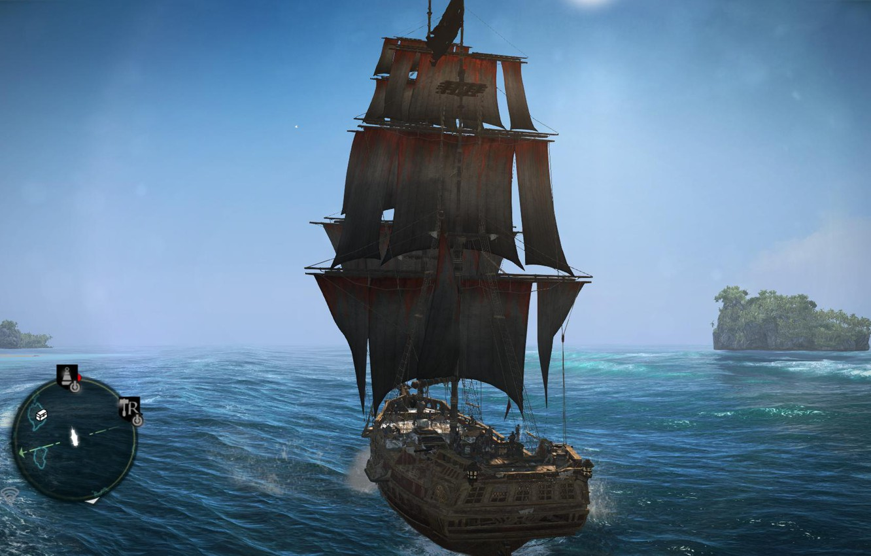 Photo wallpaper Assassins Creed, Ubisoft, Black Flag, Assassins Creed IV Black Flag