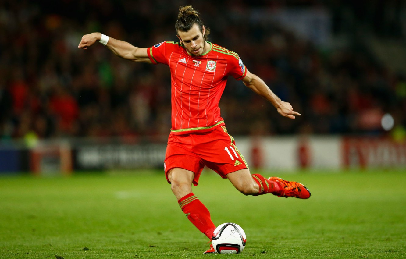 Photo wallpaper Speed, Football, Wales, Gareth Bale, Alex Ander Favorsky