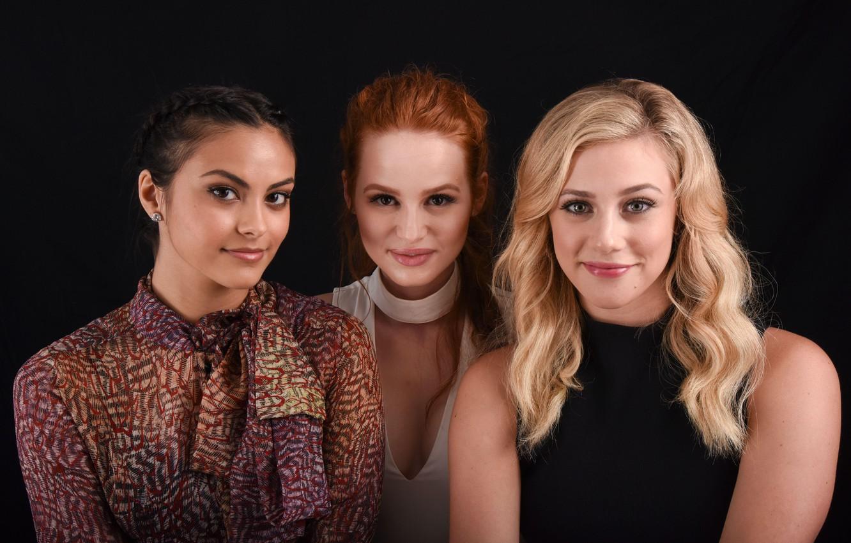 Photo wallpaper Riverdale, Veronica Lodge, Camila Mendes, Betty Cooper, Lili Reinhart, Riverdale, Cheryl Blossom, Madelaine Petsch