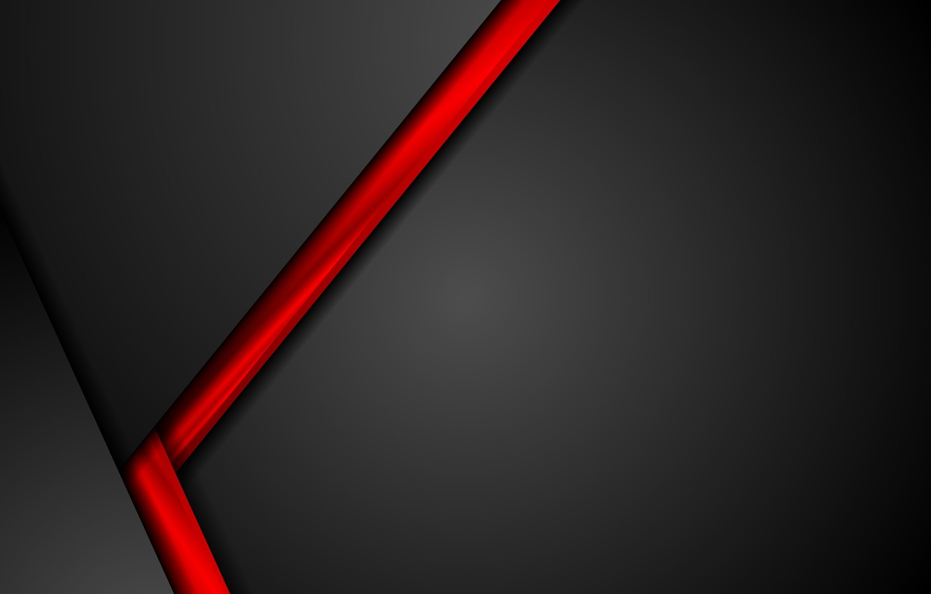 Wallpaper Abstract Red Black Design Color Material Vector