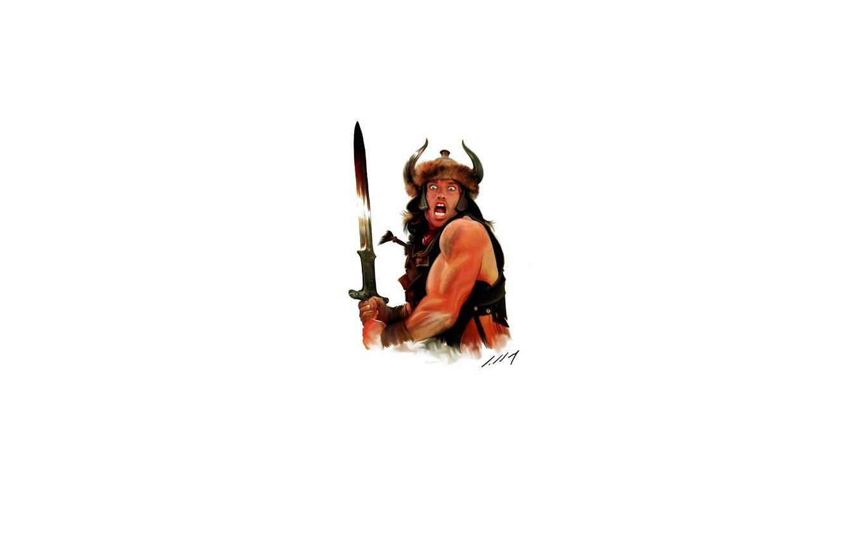 Wallpaper Sword Helmet Conan The Barbarian Images For