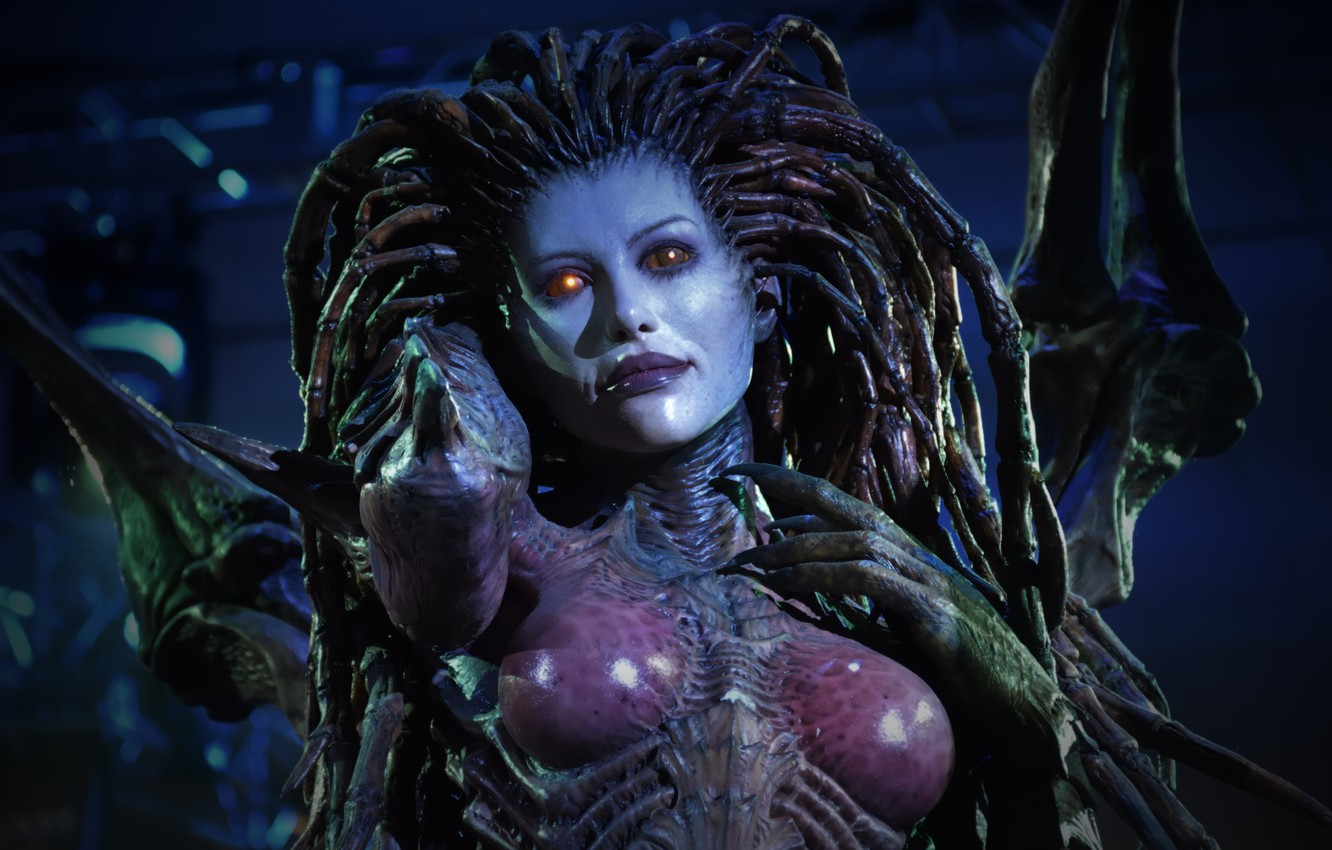 Wallpaper Sarah Kerrigan Sarah Kerrigan The Queen Of