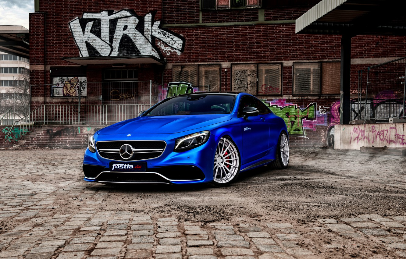 Photo wallpaper coupe, Mercedes, Mercedes, AMG, Coupe, S-Class, C217