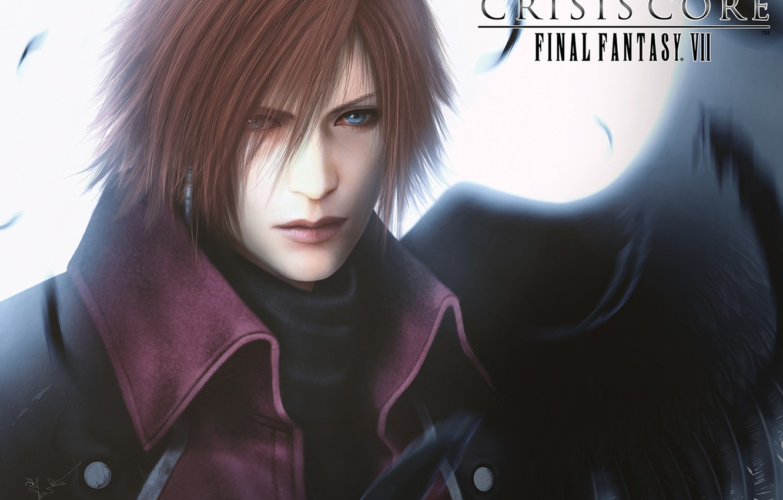 Wallpaper Guy Final Fantasy Ff7 Art Crisis Core Genesis