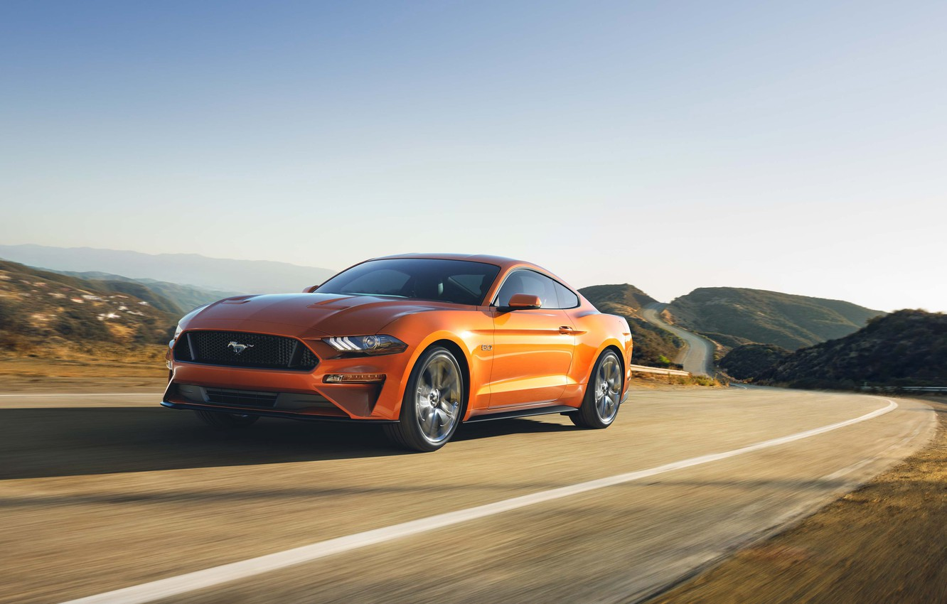 Photo wallpaper Car, Ford Mustang GT