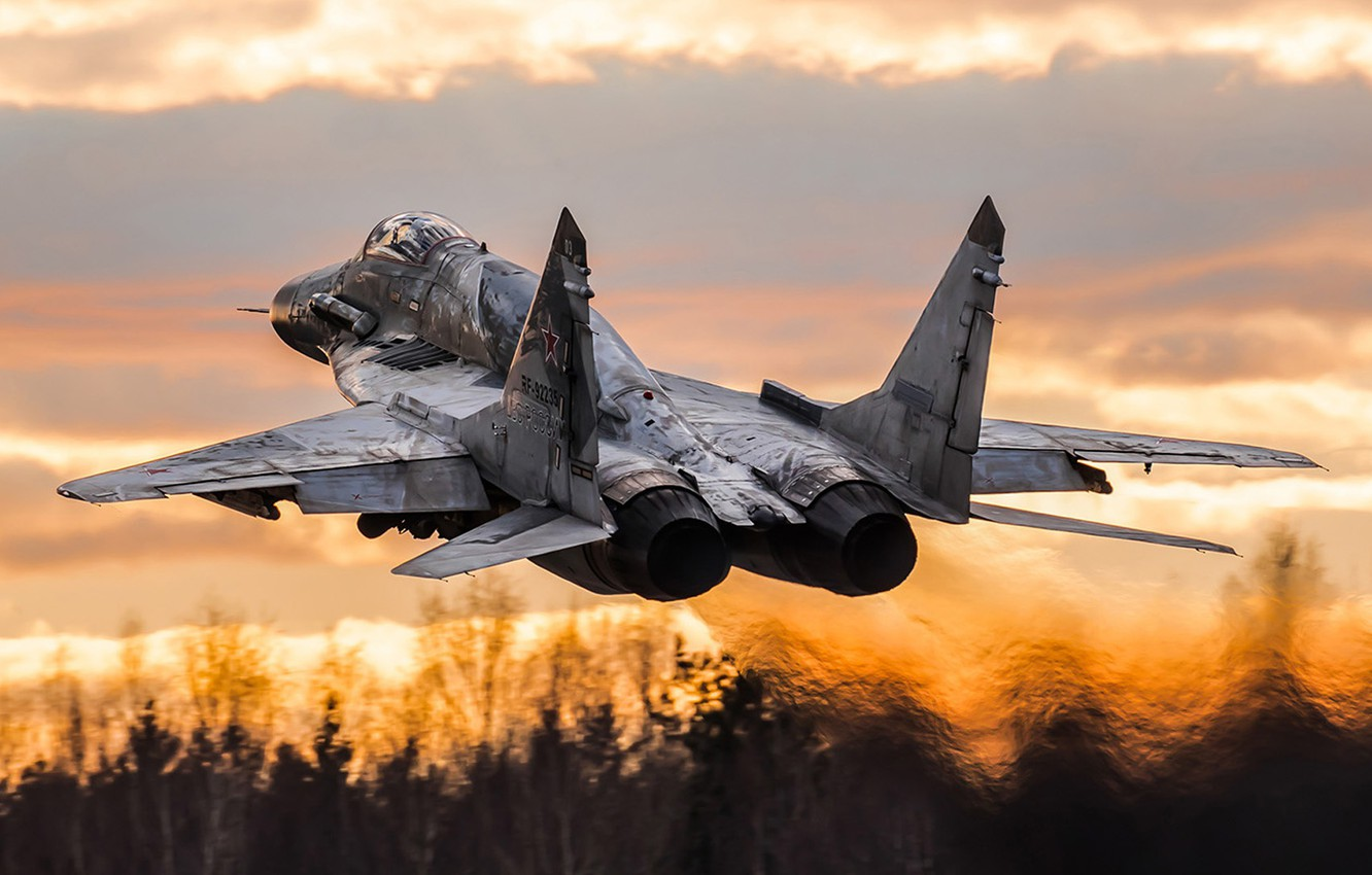 Photo wallpaper the fourth generation, The Russian air force, Fulcrum, OKB MiG, The MiG-29SMT, Soviet multipurpose fighter, ...