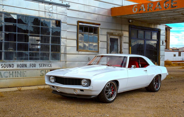 Photo wallpaper Chevrolet, Camaro, white, Wheels, ZX3P