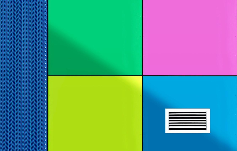 Photo wallpaper color, wall, panel