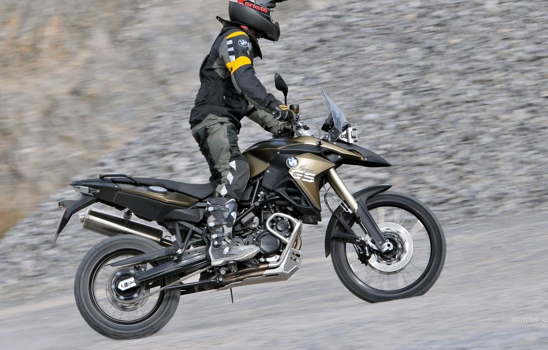 Photo wallpaper speed, moto, BMW-F-800-GS