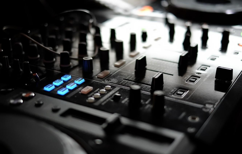 Photo wallpaper music, pioneer, DJ console