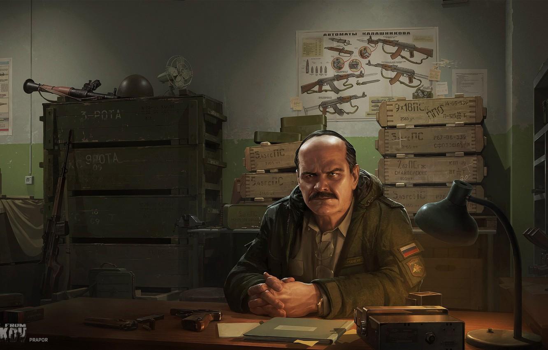 Wallpaper Weapons, ammunition, Prapor, Escape from Tarkov