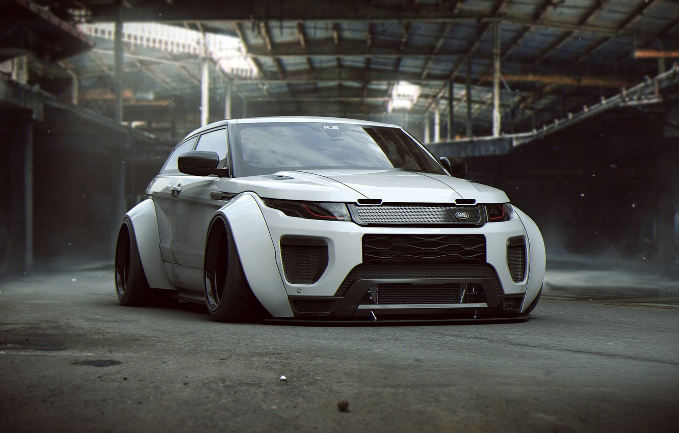 Photo wallpaper Land Rover, Tuning, Future, by Khyzyl Saleem