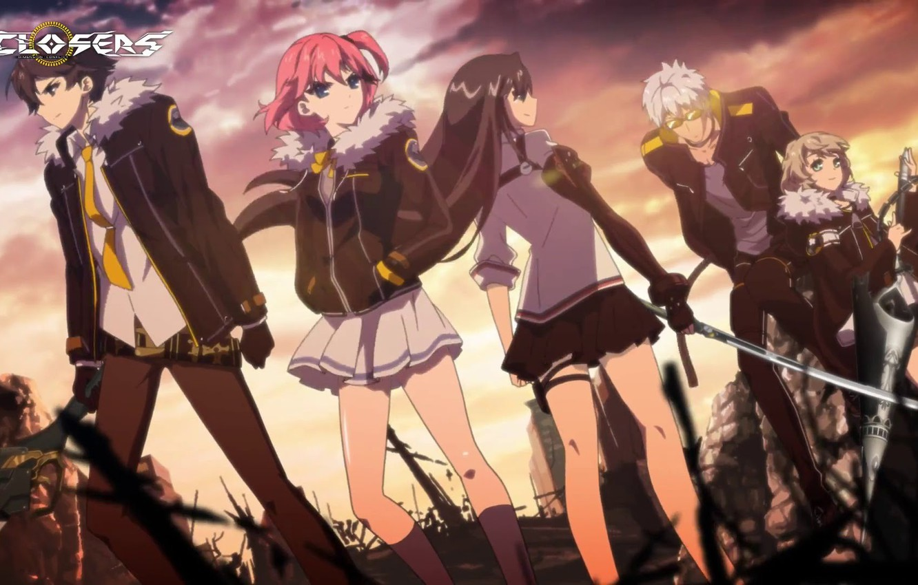 Photo wallpaper girls, The game, Anime, guys, action, MMO, slasher, Closers
