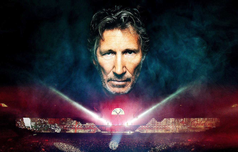 Photo wallpaper Pink Floyd, men, legend, the wall, rockstar, Roger Waters