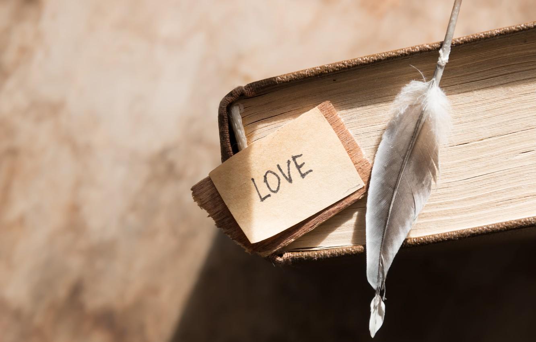 Photo wallpaper pen, book, love, vintage, i love you, heart, romantic, book