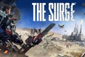 Picture armor, The Surge, robot, drone, gun, saw, weapon, man, game