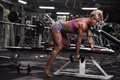Picture muscles, female, workout, fitness, triceps, Tracey Guile