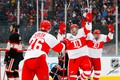 Picture The Detroit Red Wings, Chicago Blackhawks, Sport, Red Wings, National hockey League, Detroit, The game, ...