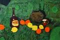 Picture apples, 2008, still life, green background, The petyaev, merlot, lemony