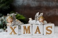 Picture New Year, Christmas, angels, merry christmas, decoration, xmas, holiday celebration