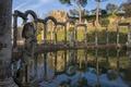 Picture pool, ruins, Italy, Tivoli, Villa Adriana