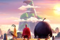 Picture film, montain, Bomb, Angry Birds, AB, Chuck, birds, eagle, animated movie, Red, angry, animated, game