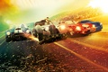 Picture the city, glare, background, race, speed, highway, sparks, Thriller, poster, cars, Scott Eastwood, Scott Eastwood, ...
